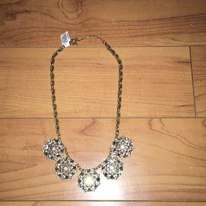 Loft statement necklace NWT